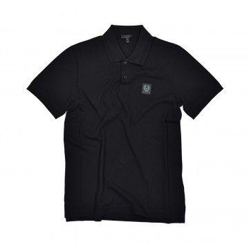 BELSTAFF - Men's Polo Shirt - Stannett - Black