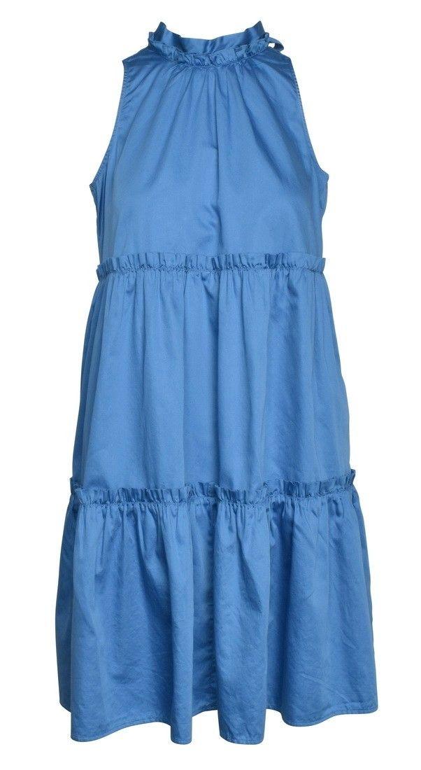 0039 ITALY - Kleid - Aurelie Dress - Blue