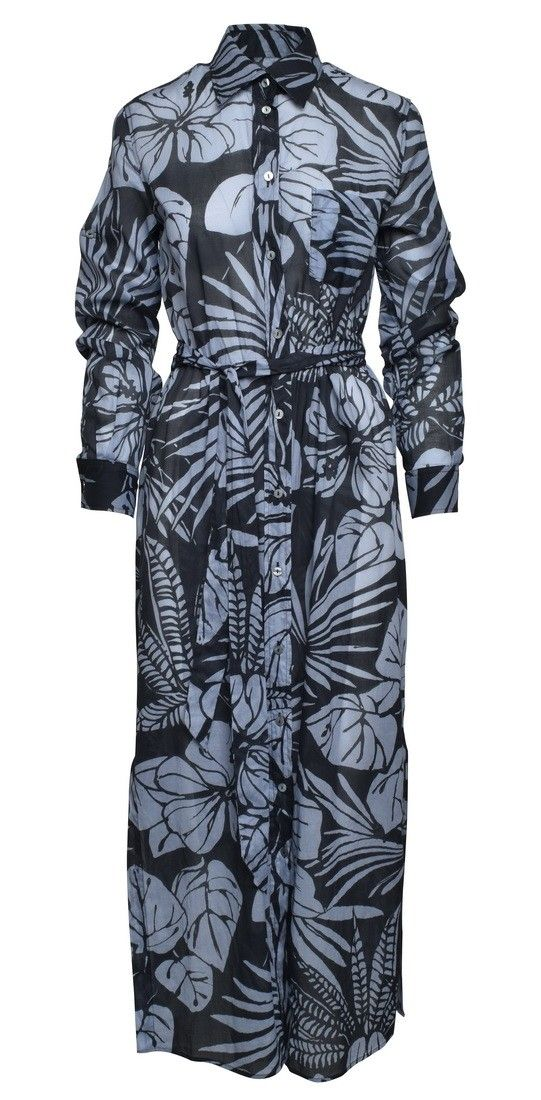 0039 ITALY - Kleid - Taya Dress - Blue