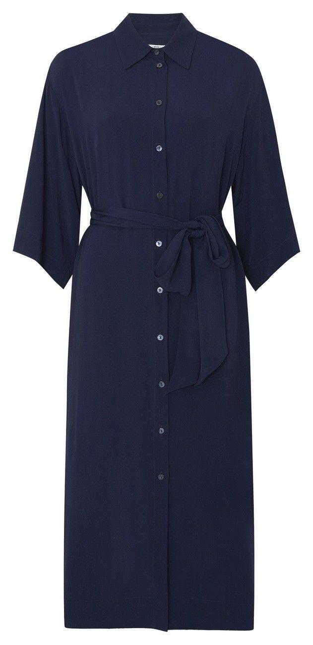 0039 ITALY - Kleid - Belfast Dress - Blue