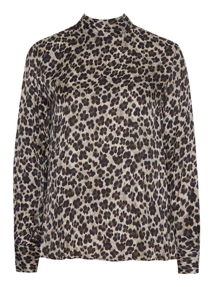 0039 ITALY - Damen Bluse - Dorothe - Leopardo