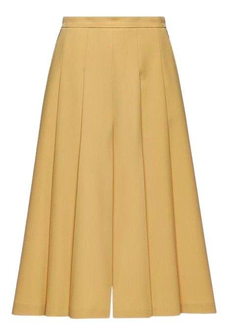 BEATRICE B. - Damen Hose - Pantaloni 1424 Tessuto P165 - Gelb