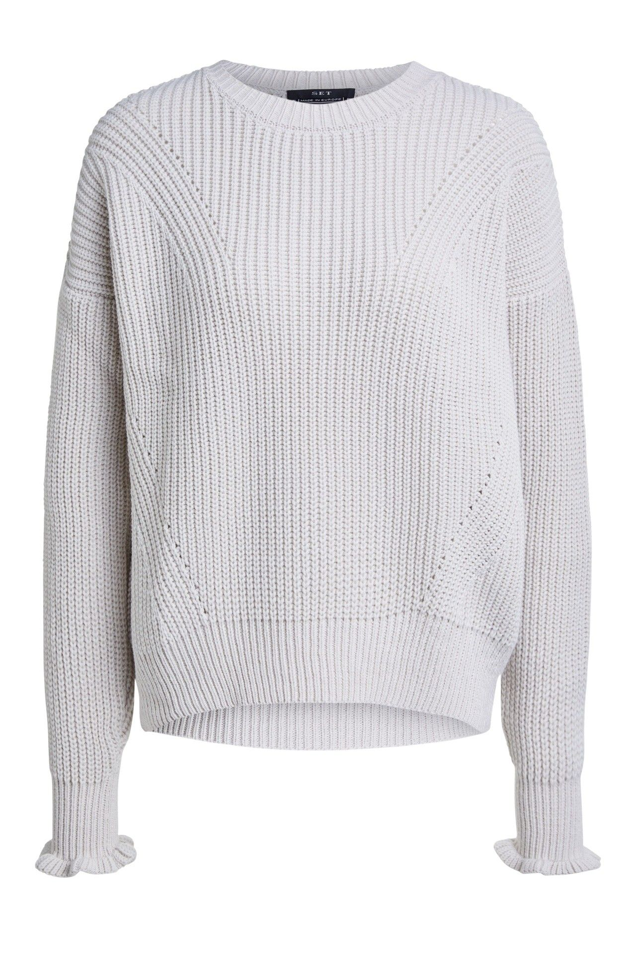 SET - Damen Sweater - Pullover - Offwhite