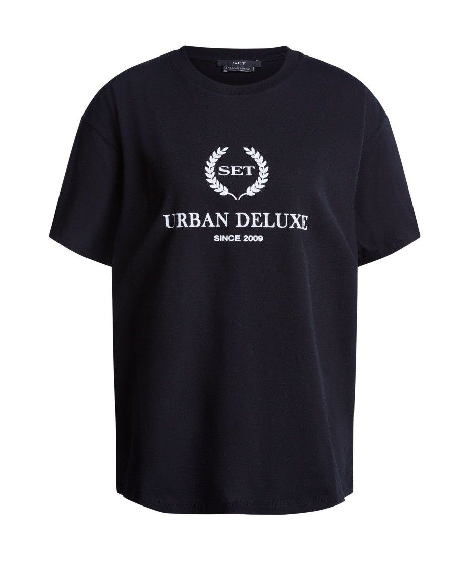 SET - Damen T-Shirt - Urban Deluxe - Black