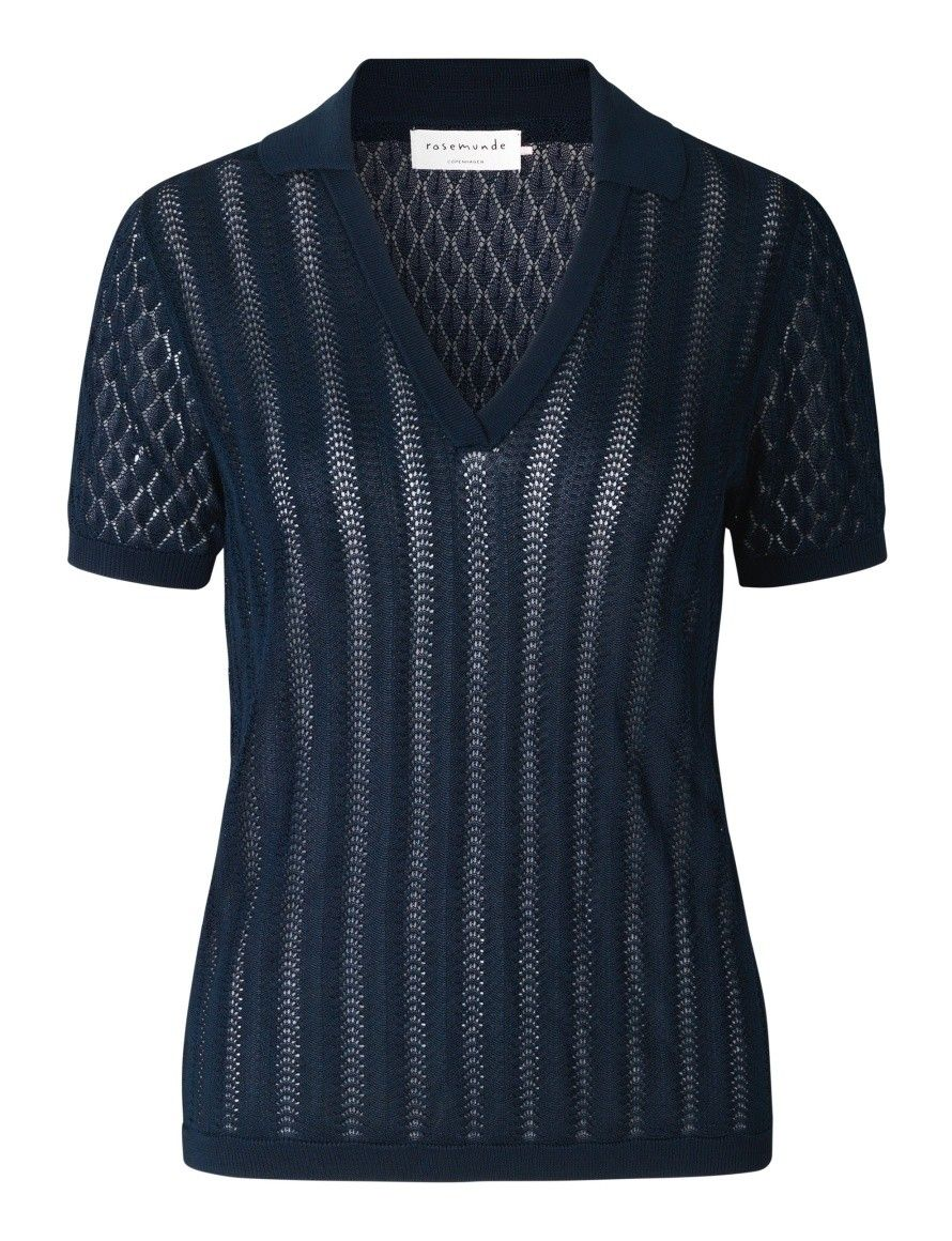 ROSEMUNDE - Damen Poloshirt - Puglia - Navy