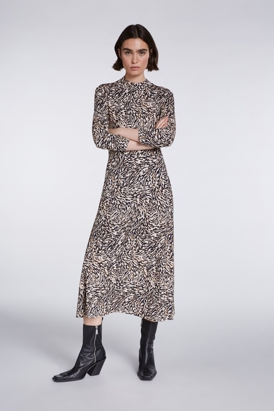 SET - Damen Kleid - Dress - Animal