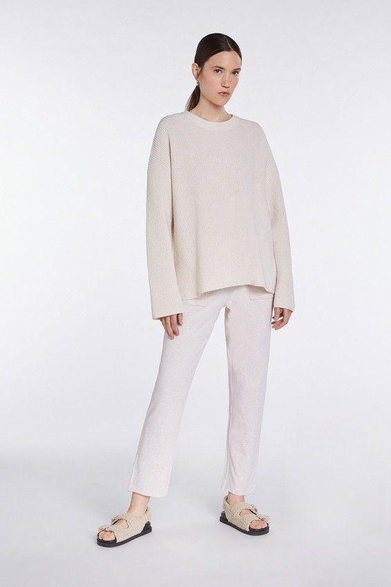 SET - Damen Pullover - off:line Pullover - Panna Cotta