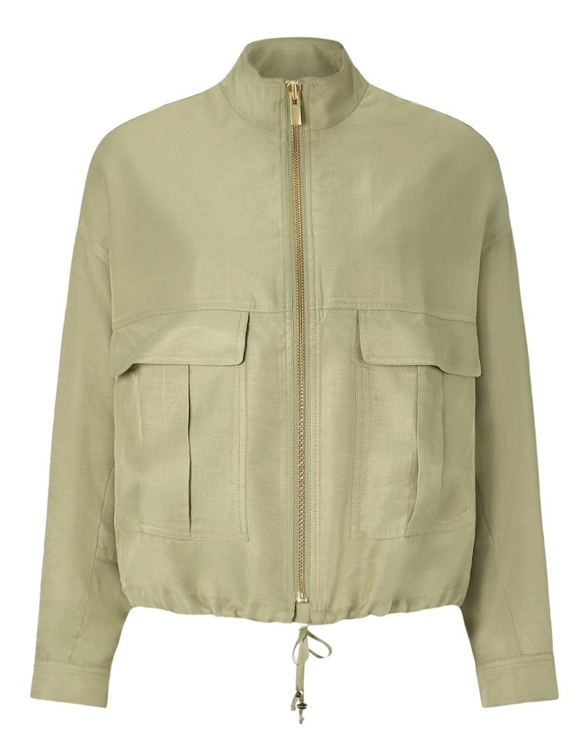 RICH & ROYAL - Damen Jacke - Bomber Safari - Safari Green