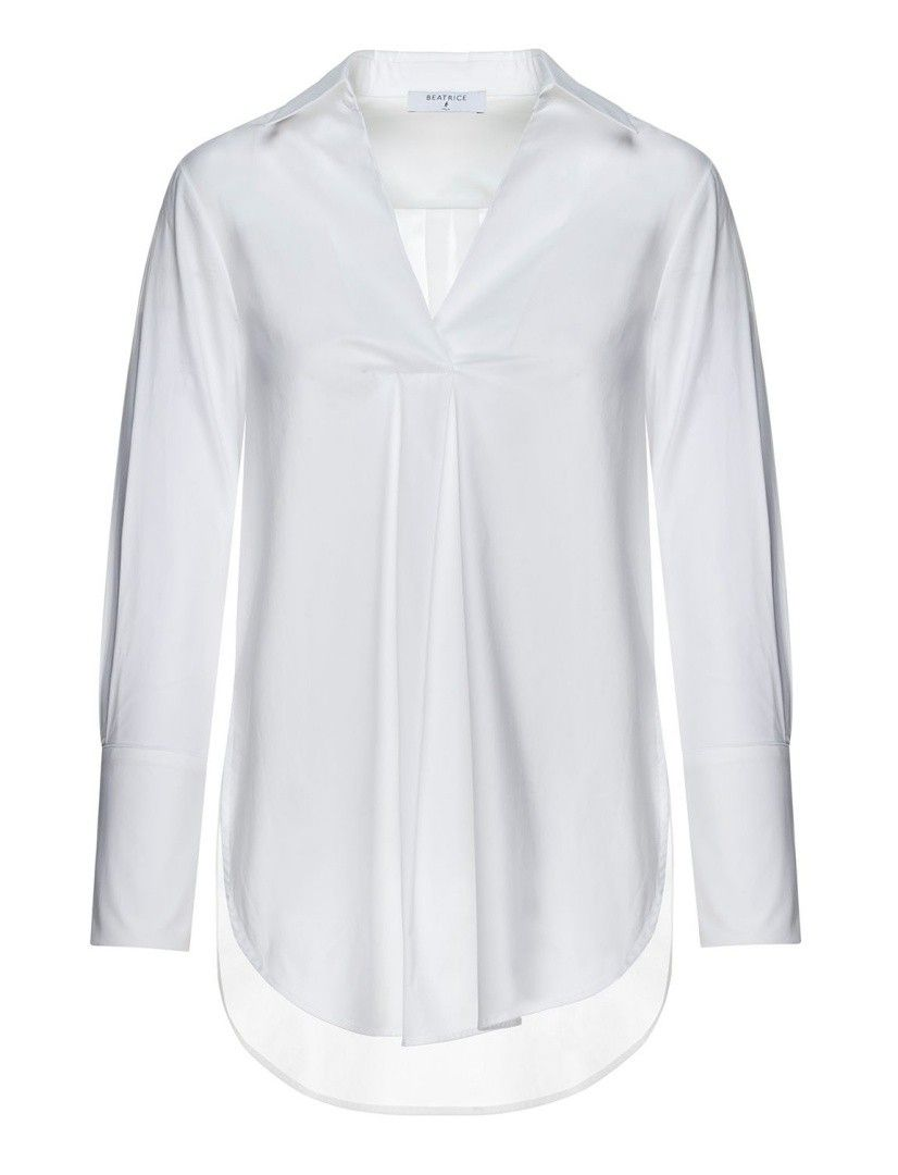 BEATRICE.B - Damen Bluse - Blouse - Bianco