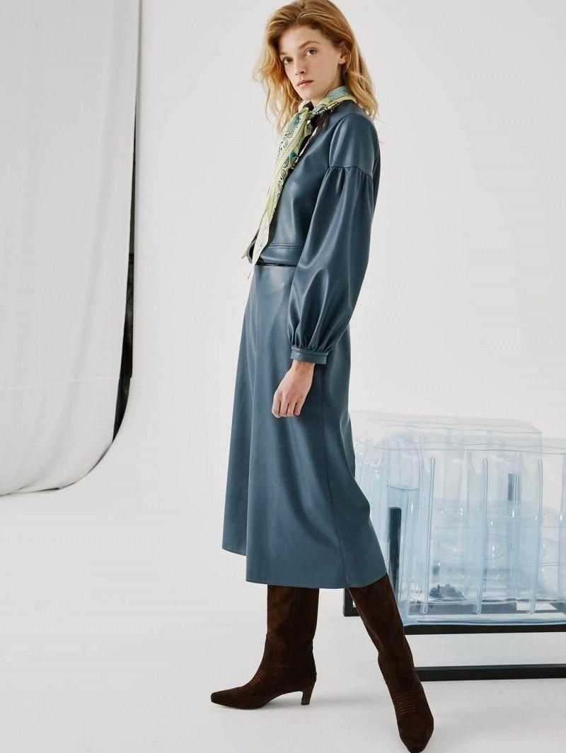 BEATRICE B - Damen Hose - Pantaloni - Taupe Blu