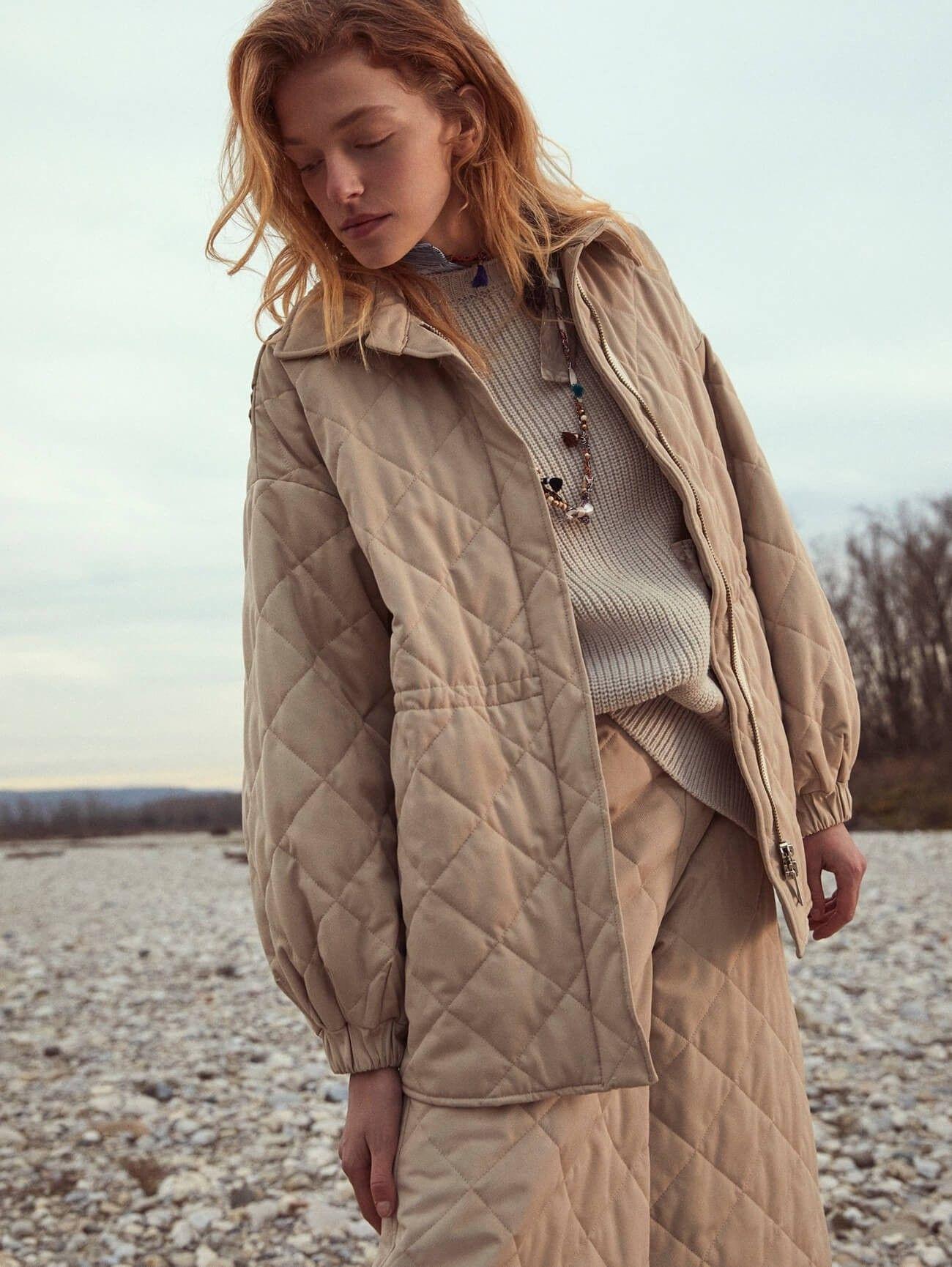 BEATRICE.B - Damen Jacke - Jacket 3809 Fabric Bel 1046 - Sand