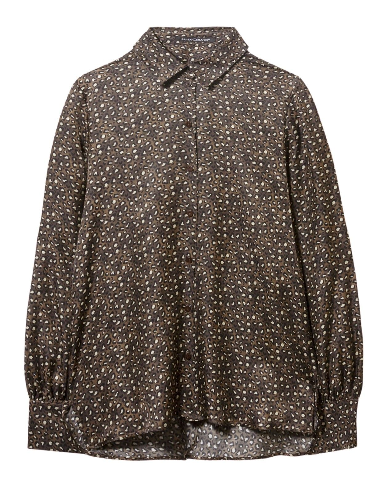 LUISA CERANO - Damen Bluse - Bluse mit Fantasy-Animal Print-Multi