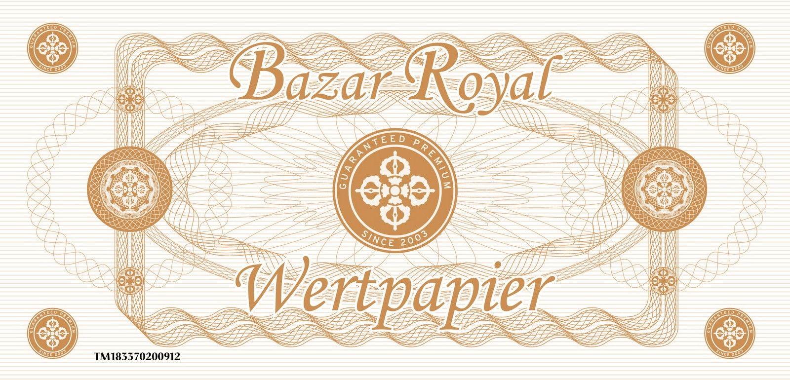 Bazar Royal Wertgutschein - 100,00 Euro