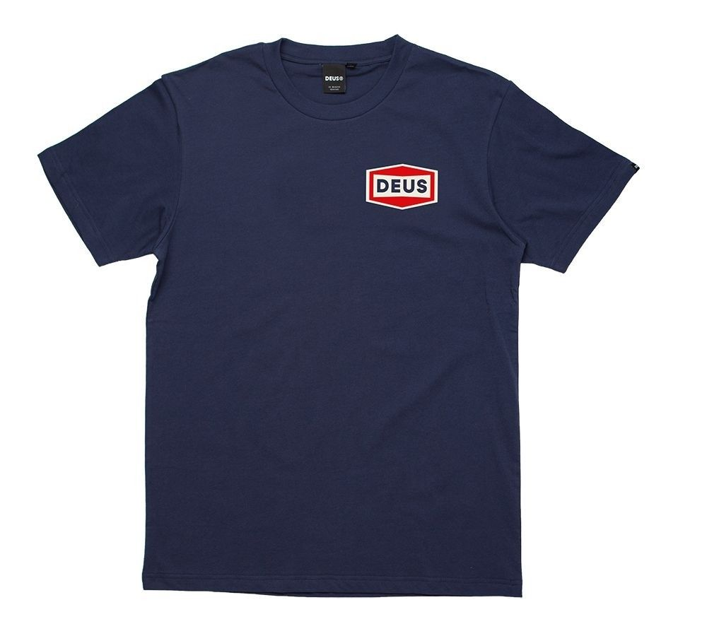 DEUS EX MACHINA - Herren T-Shirt - Speed Stix Tee - Navy