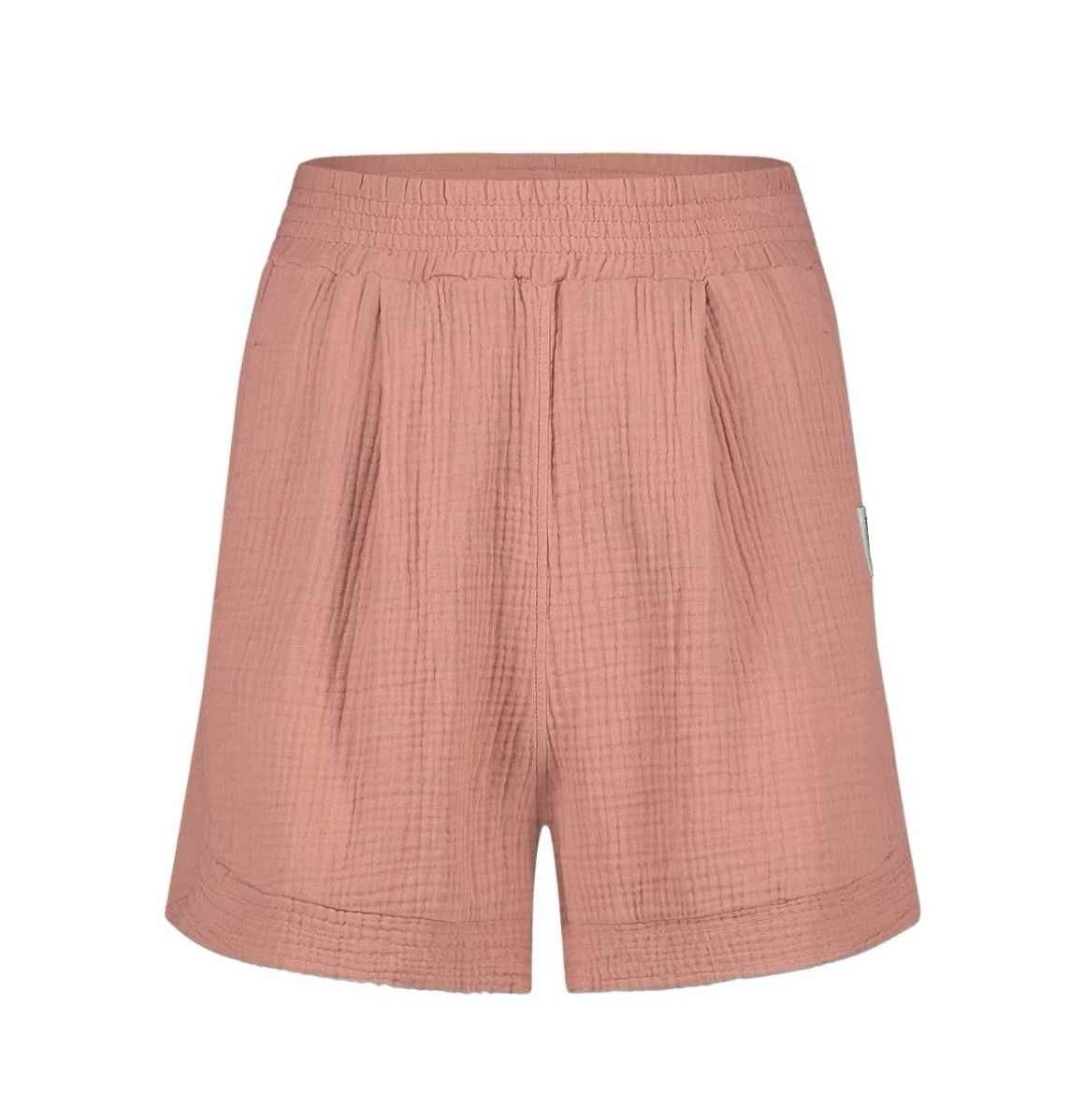 PENN&INK N.Y - Damen Shorts -Terracotta