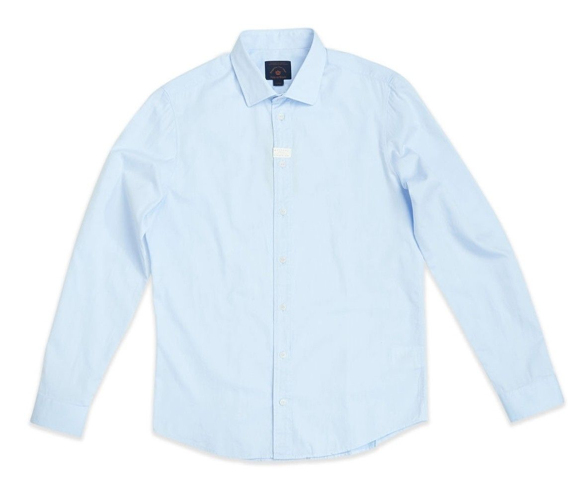 BLUE DE GÊNES - Herren Hemd - Miguel Brilliante Shirt - Light Blue