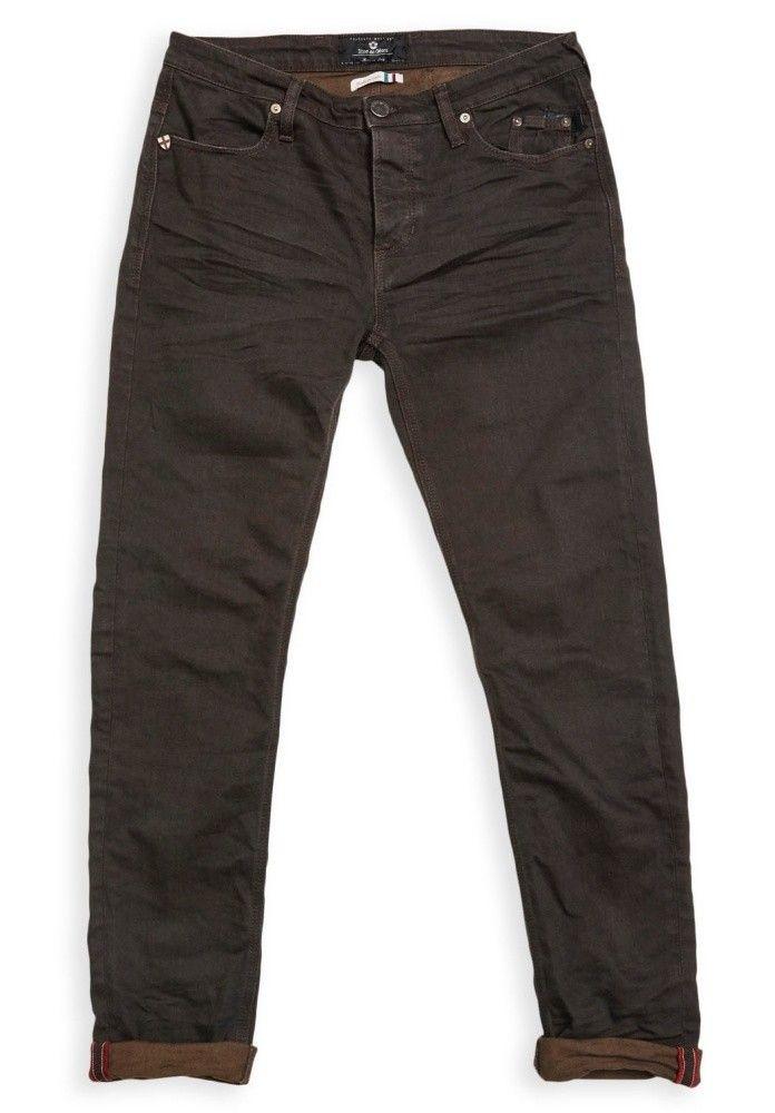 BLUE DE GENES - Herren Hose - Repi Celsius Dark Jeans - Black/Brown
