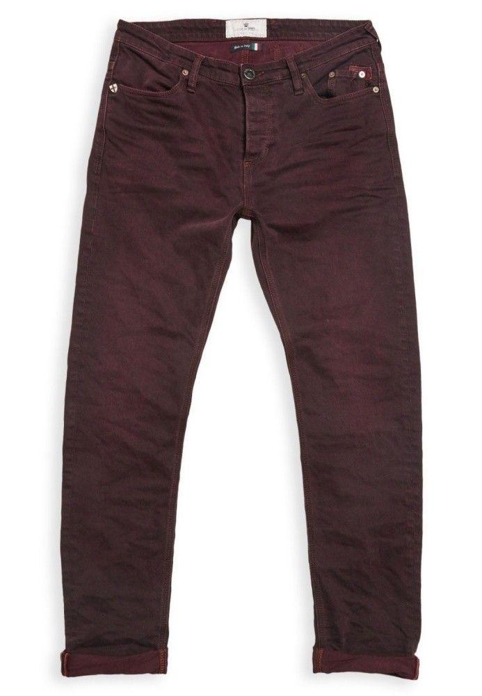 BLUE DE GÊNES - Herren Hose - Repi Energy Jeans - Burgundy