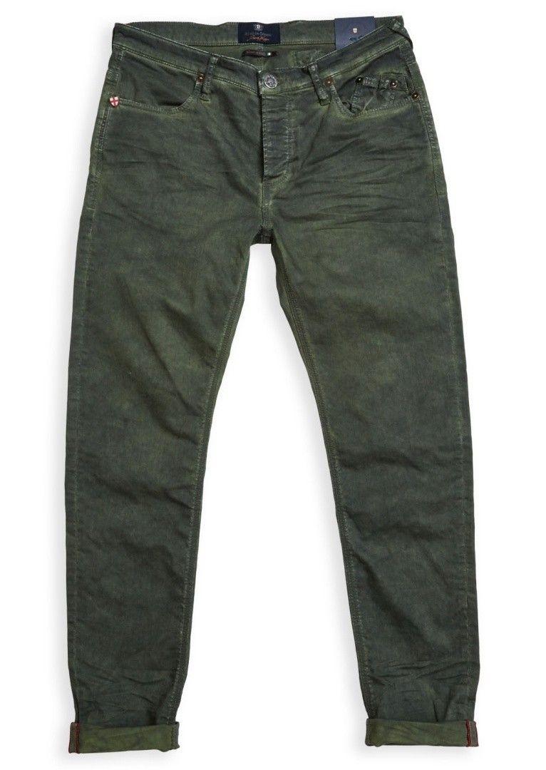 BLUE DE GÊNES - Herren Hosen - Repi Trouser Super Oil - Green