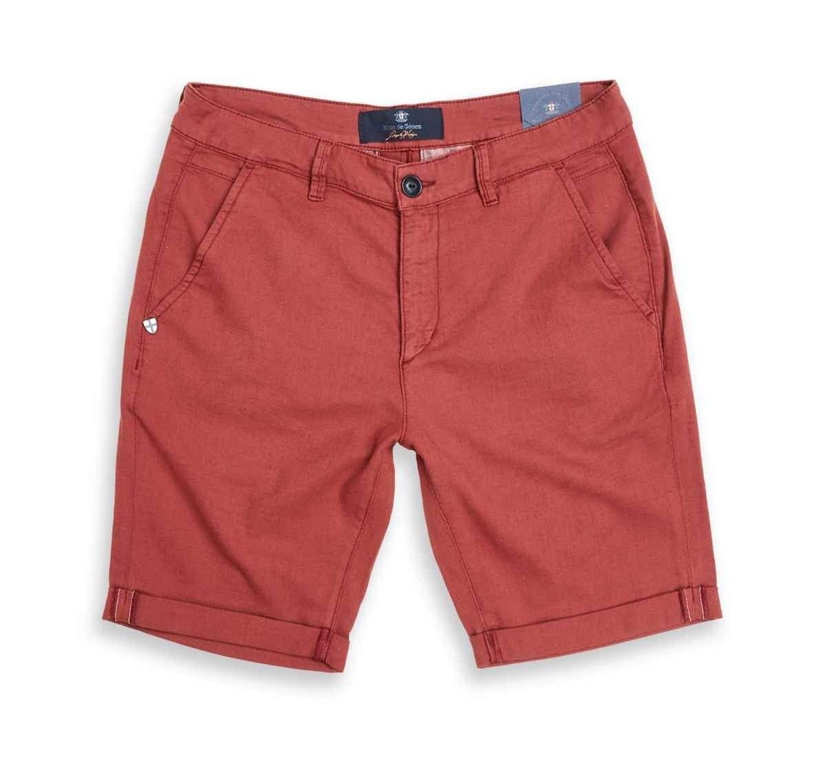 BLUE DE GÊNES - Herren Shorts - Teo Gusto Shorts - Burned Henna