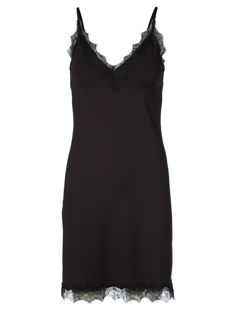 ROSEMUNDE - Damen Kleid - Strap Dress - Black