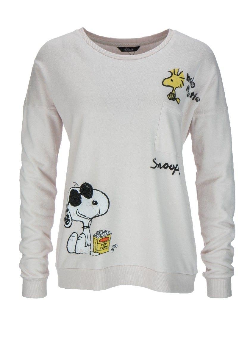 PRINCESS GOES HOLLYWOOD - Damen Sweatshirt - Snoopy Fluffy Sweaty - Powder Puff