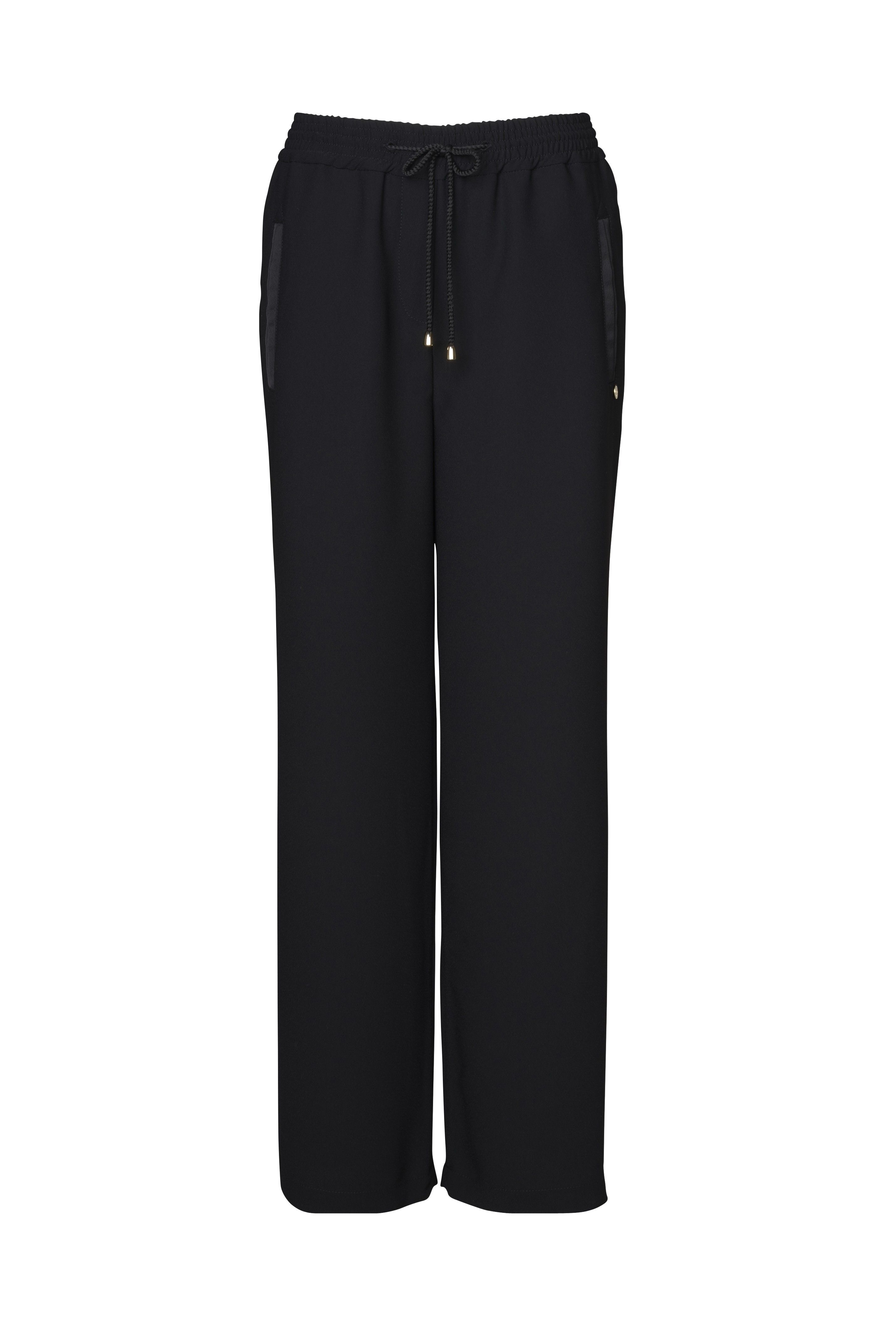 RICH & ROYAL - Hose - Wide Leg Pants - Black