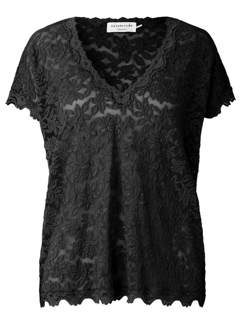 ROSEMUNDE - Damen T-Shirt - Delicia - Black