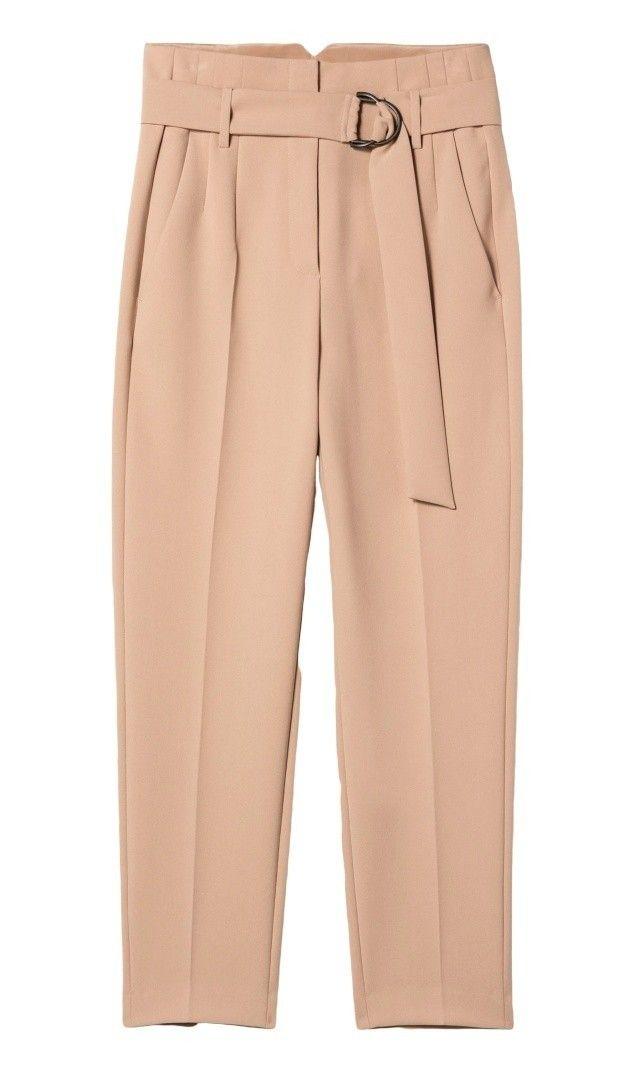 LUISA CERANO - Damen Hose - Gabardine-Pants - Natural Beige