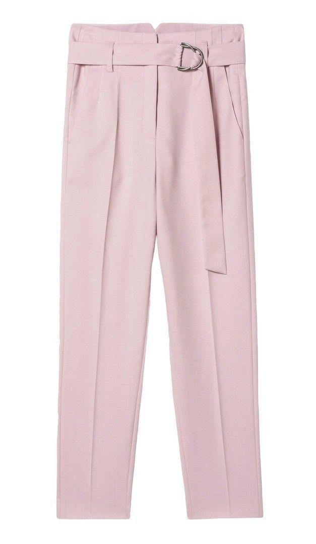LUISA CERANO - Damen Hose - Gabardine-Pants - Blush