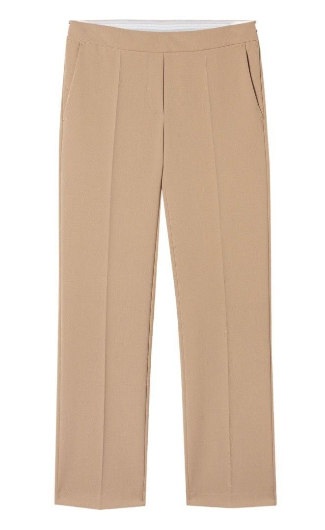 LUISA CERANO - Damen Hose - Slim Tailored Pants - Cafe Latte