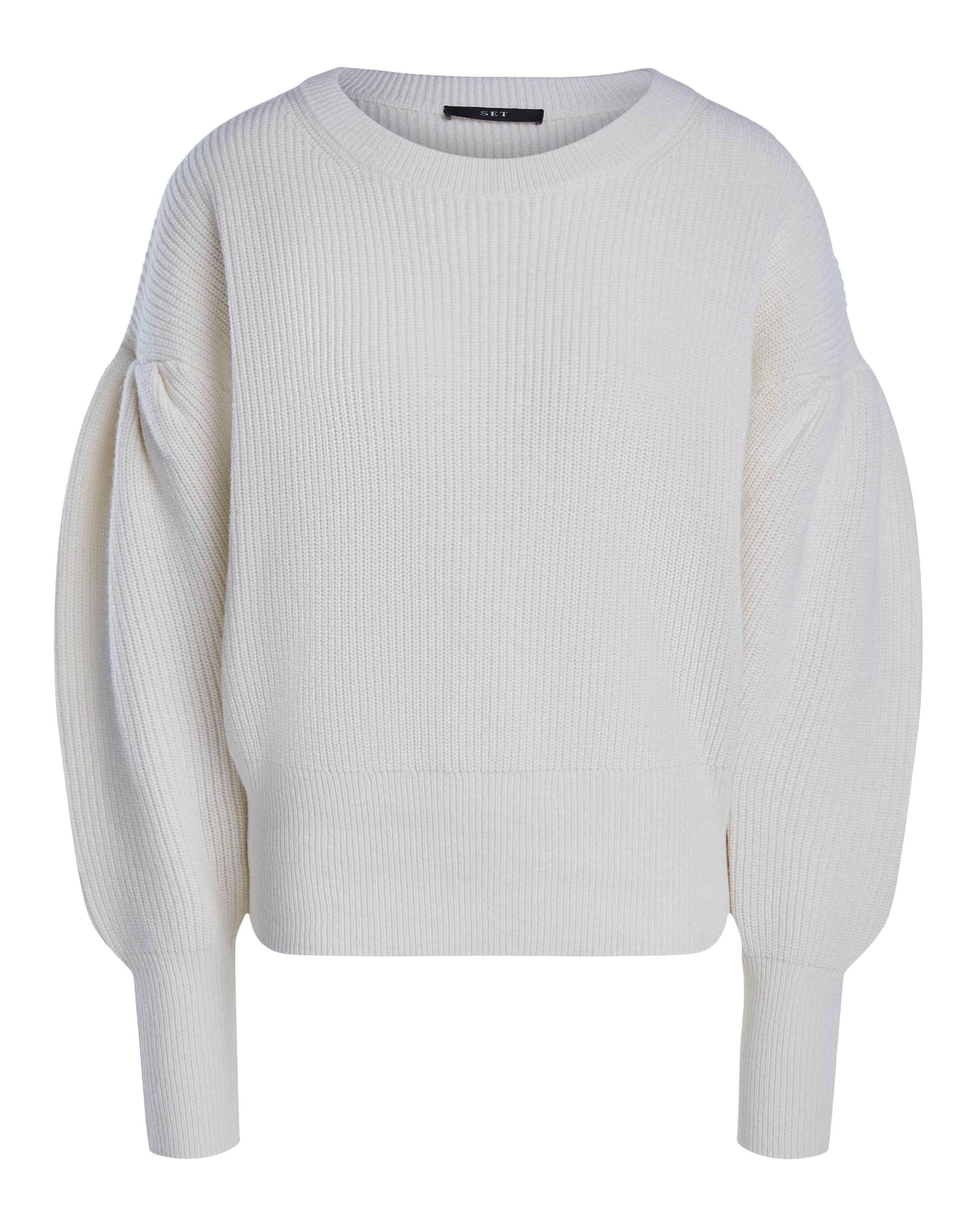 SET - Damen Pullover - Off White