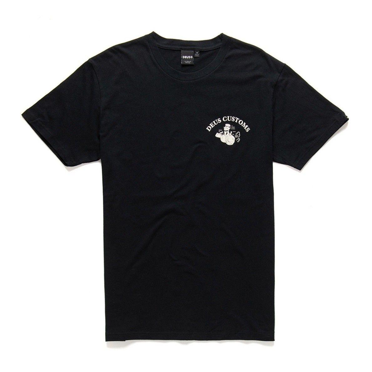 DEUS EX MACHINA - Herren T-Shirt - Gee Whiz Tee - Black