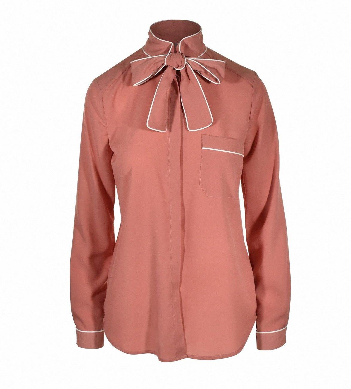BEATRICE B. - Damen Bluse - Blouse 4294 Fabric - Powder