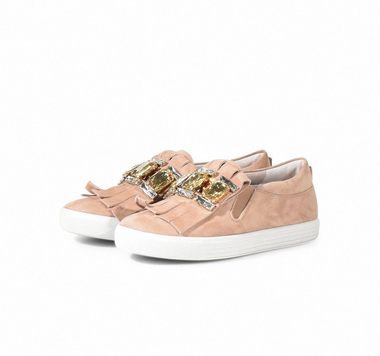 KENNEL & SCHMENGER - Damen Sneaker - Town Samtziege - Rosé/Topaz