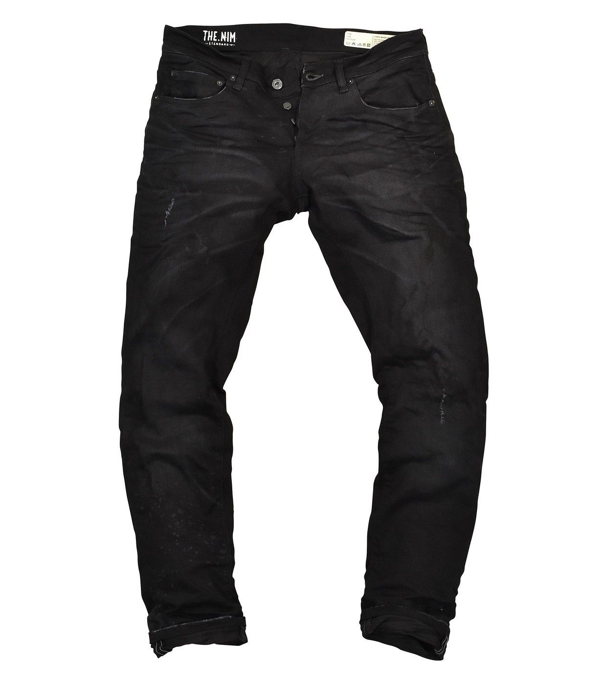 THE NIM - Herren Jeans - Dylan Slim Fit Jeans - Damaged