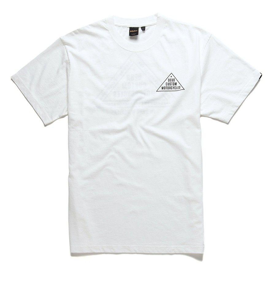 DEUS EX MACHINA - Herren T-Shirt - Roza Tee - White