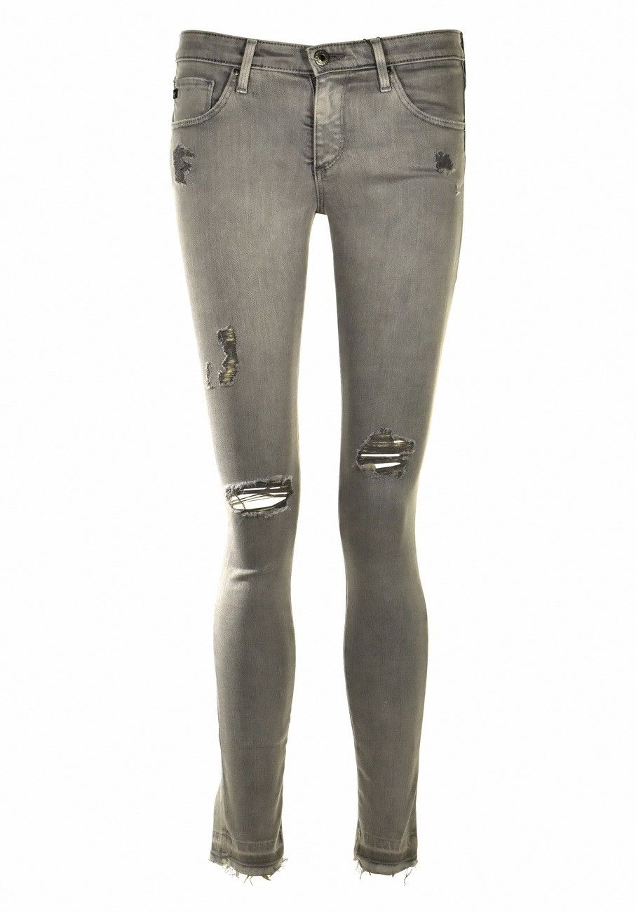 ADRIANO GOLDSCHMIED - Skinny Jeans - The Leggin Ankle - Damaged