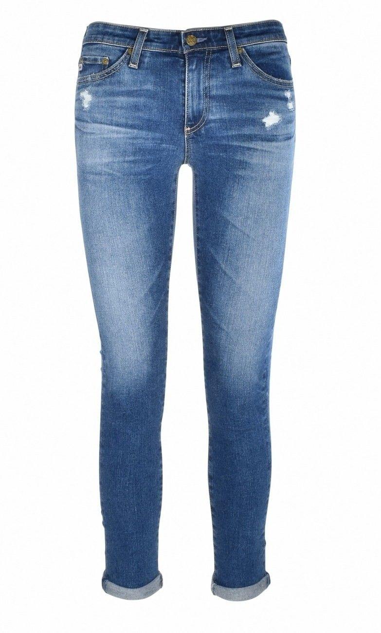 AG - Skinny Jeans - The Middi Ankle - Indigo Vintage