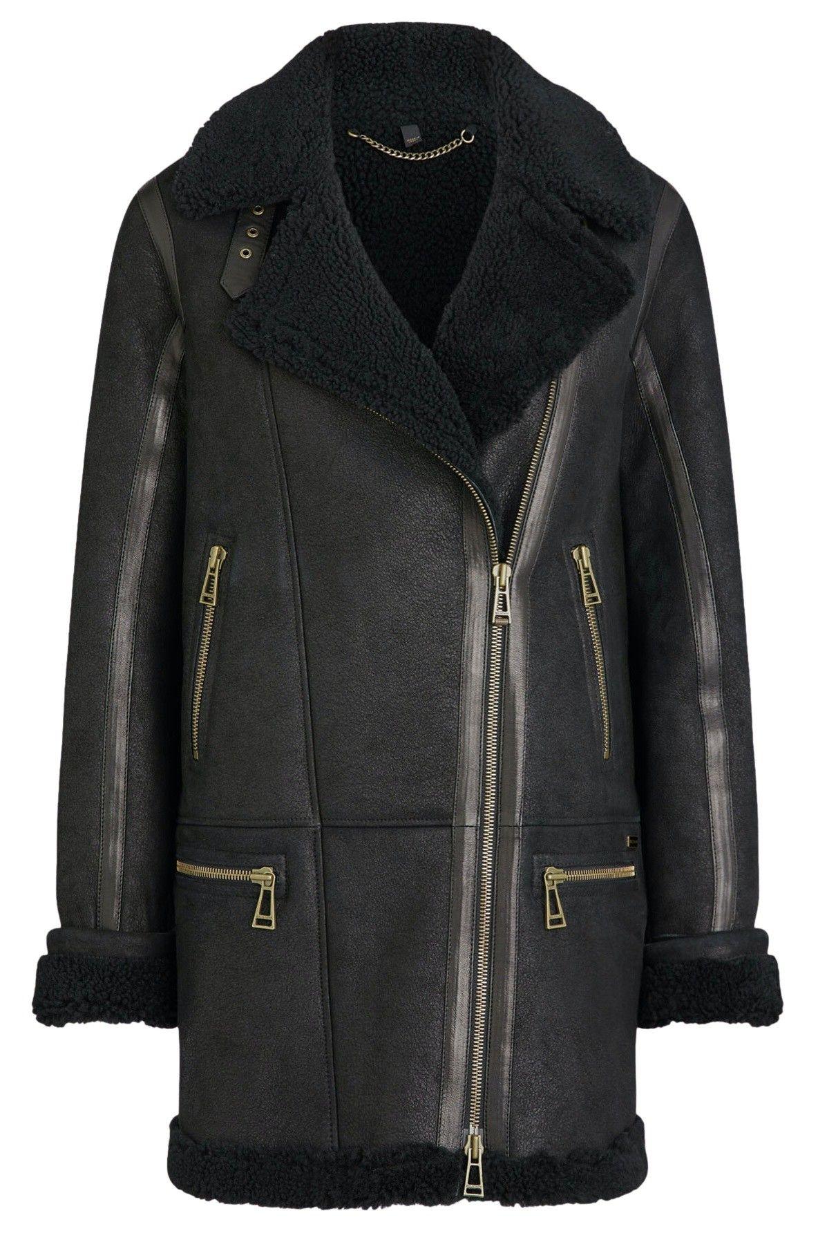 BELSTAFF - Damen Jacke - Avia Jacket - Black/Black