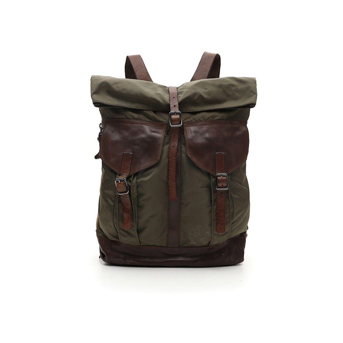 CAMPOMAGGI - Rucksack - Backpack - Military / Brown
