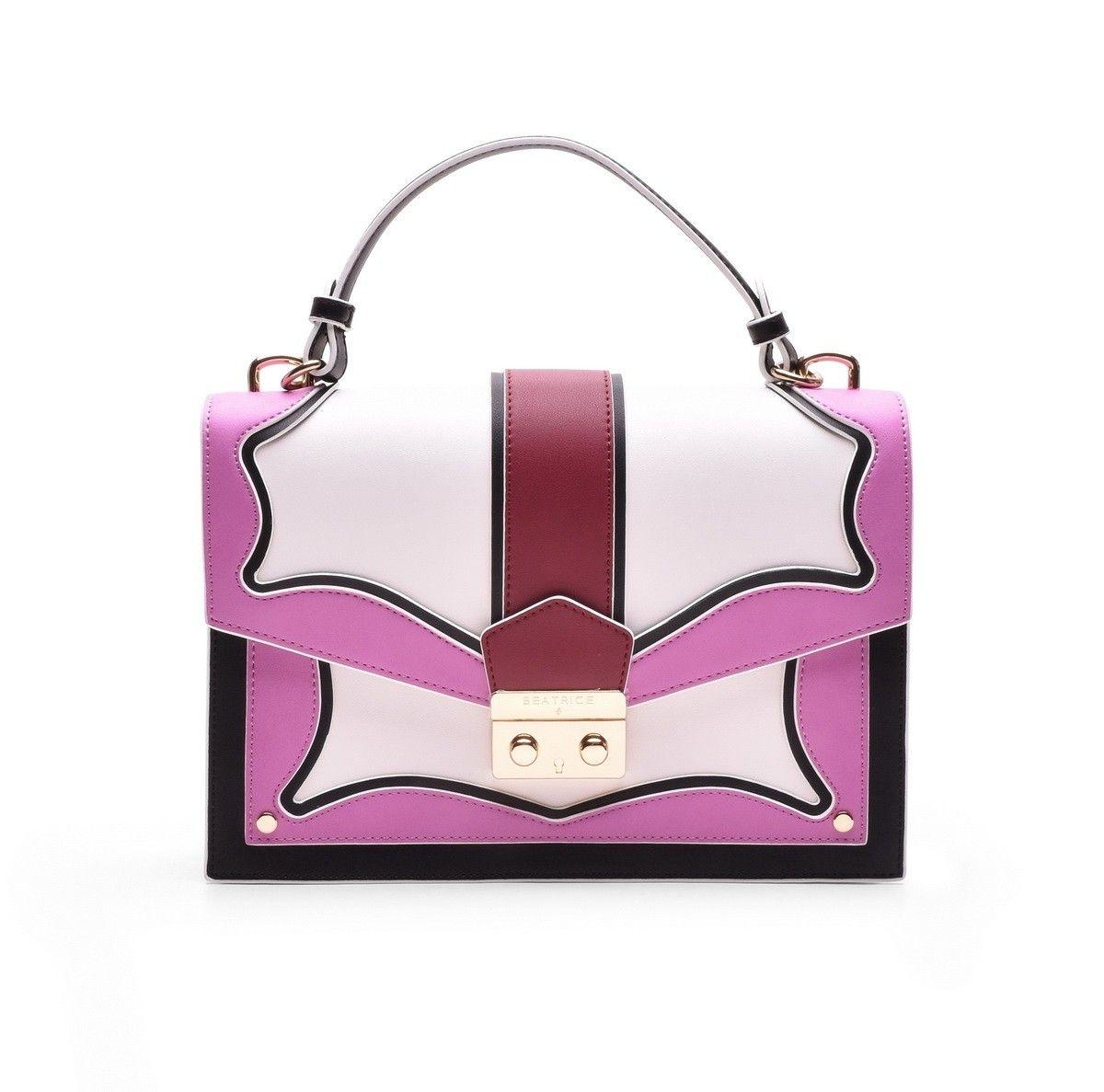 BEATRICE B. - Damen Tasche - Tessuto Skin Bag - Pink/Berry