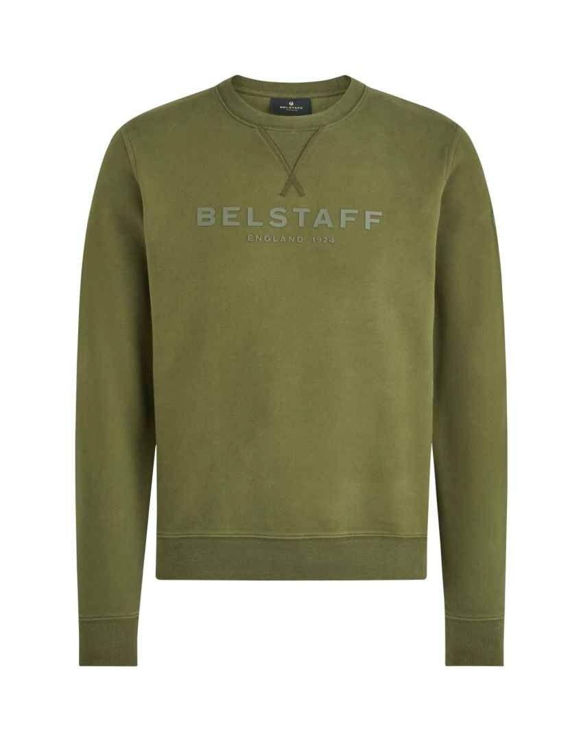 BELSTAFF - Herren Pullover - 1924 Pullover - Marsh Green