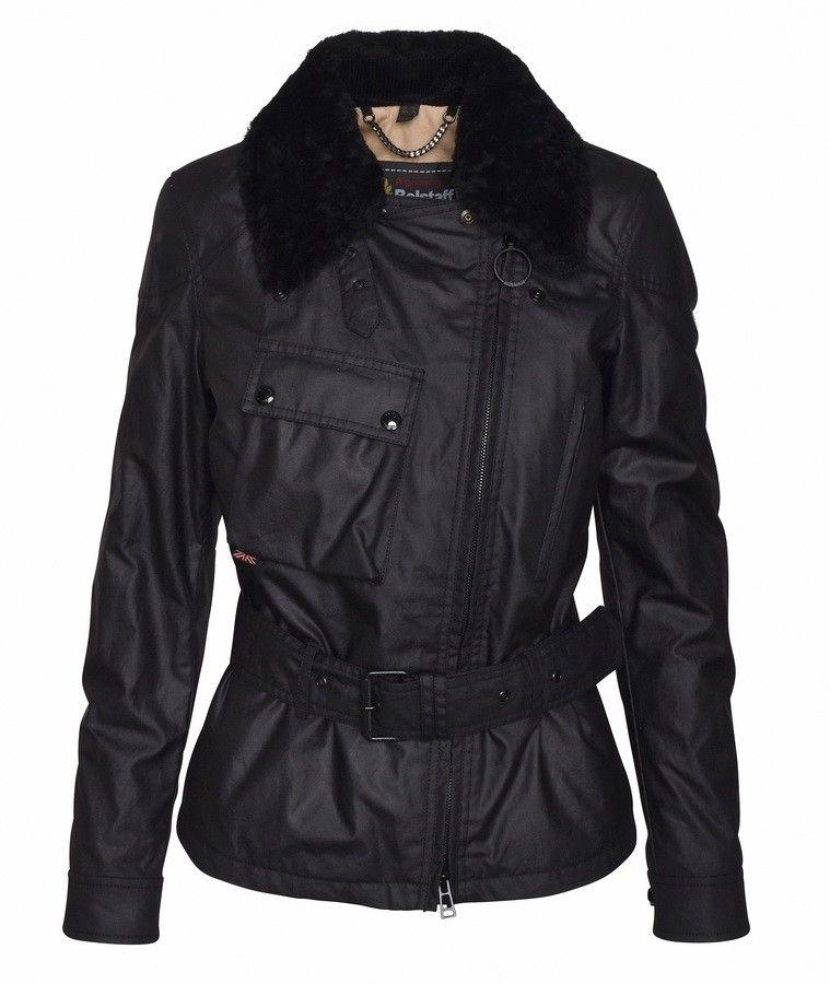 BELSTAFF - Damen Jacke - Sammy Miller Jacket W/SH - Black