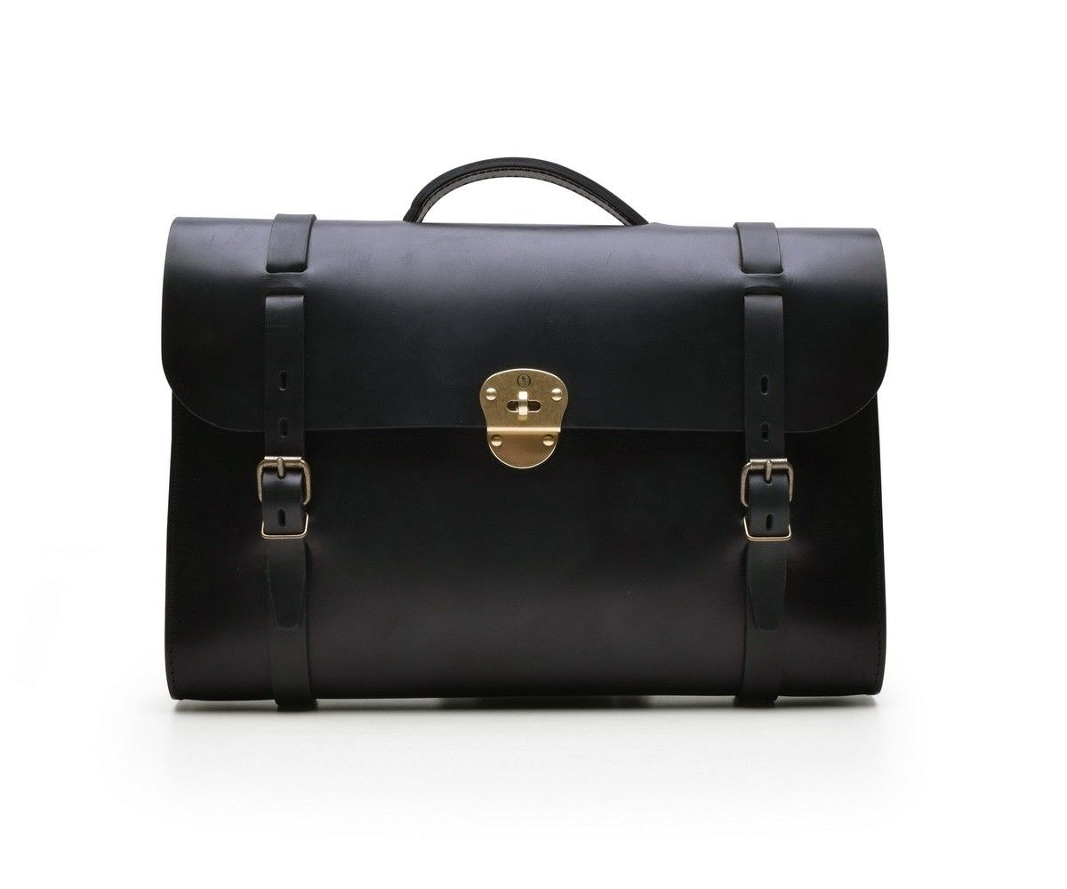 BLEU DE CHAUFFE - Scott - Noir Business Bag