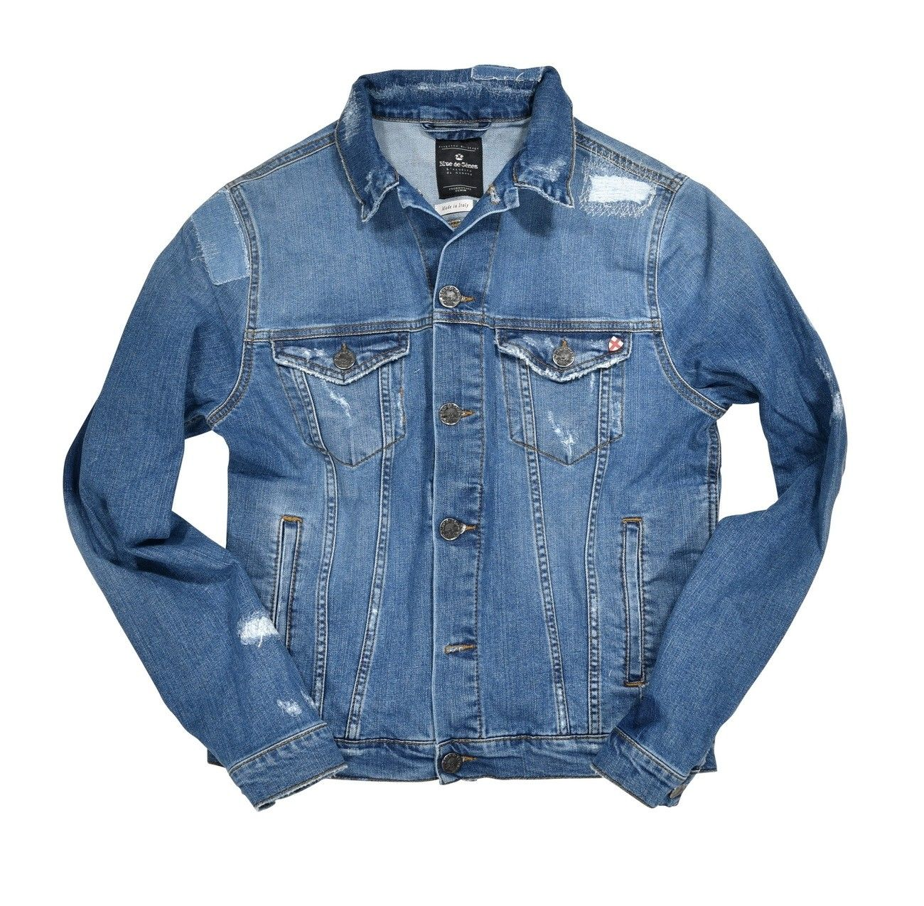 BLUE DE GÊNES - Herren Jeansjacke - Fabio N1 Denim Jacket - Light