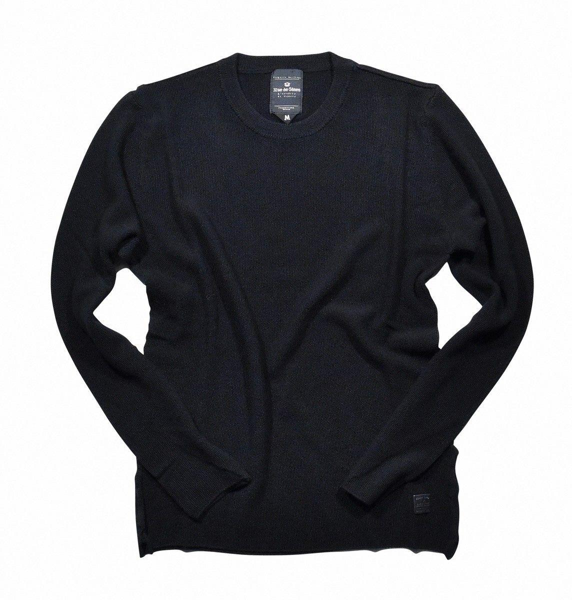 BLUE DE GÊNES - Herren Pullover - Tondo Knit - Black