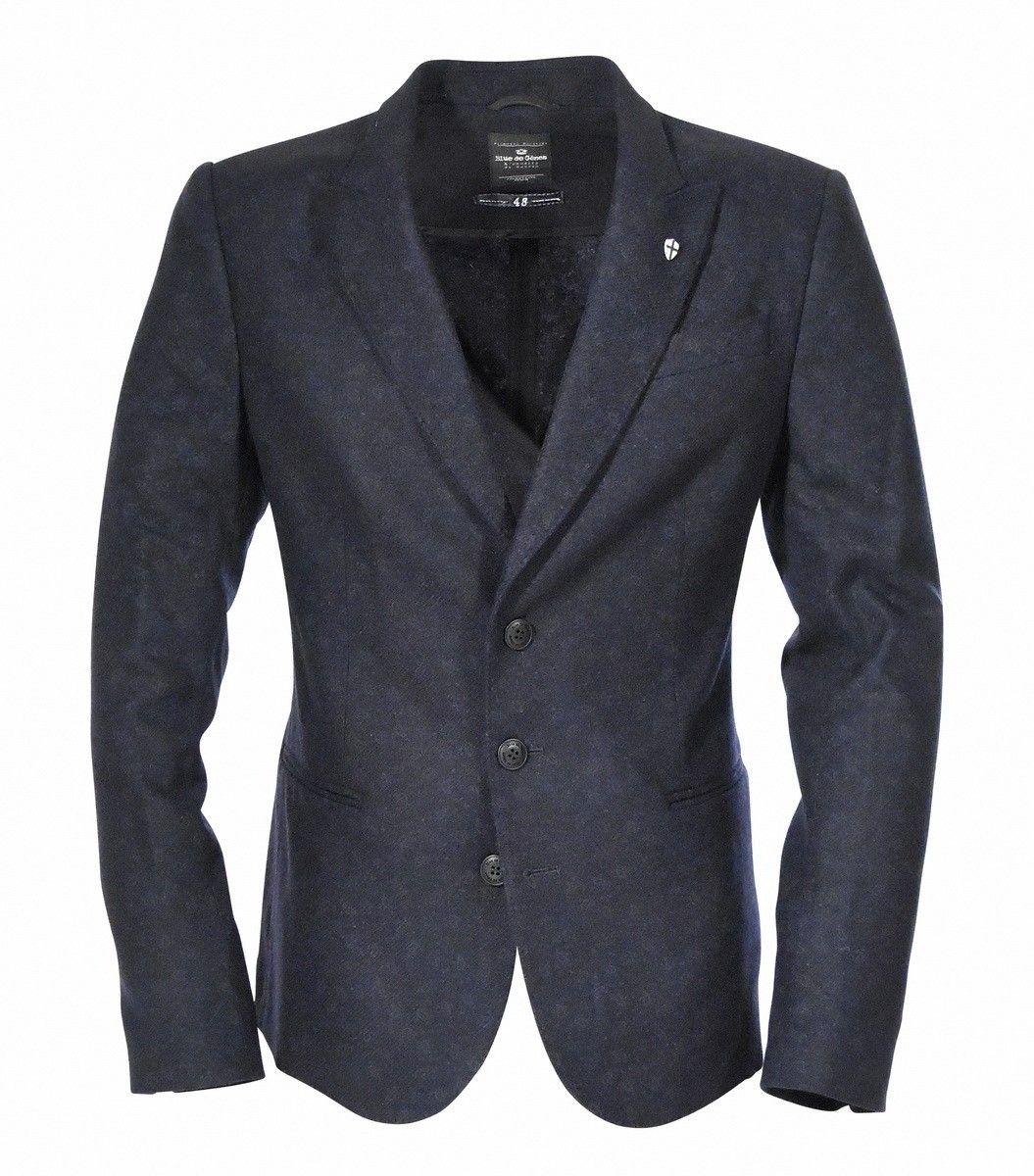 BLUE DE GÊNES - Herren Sakko - Nardo Wool Blazer - Dark Navy