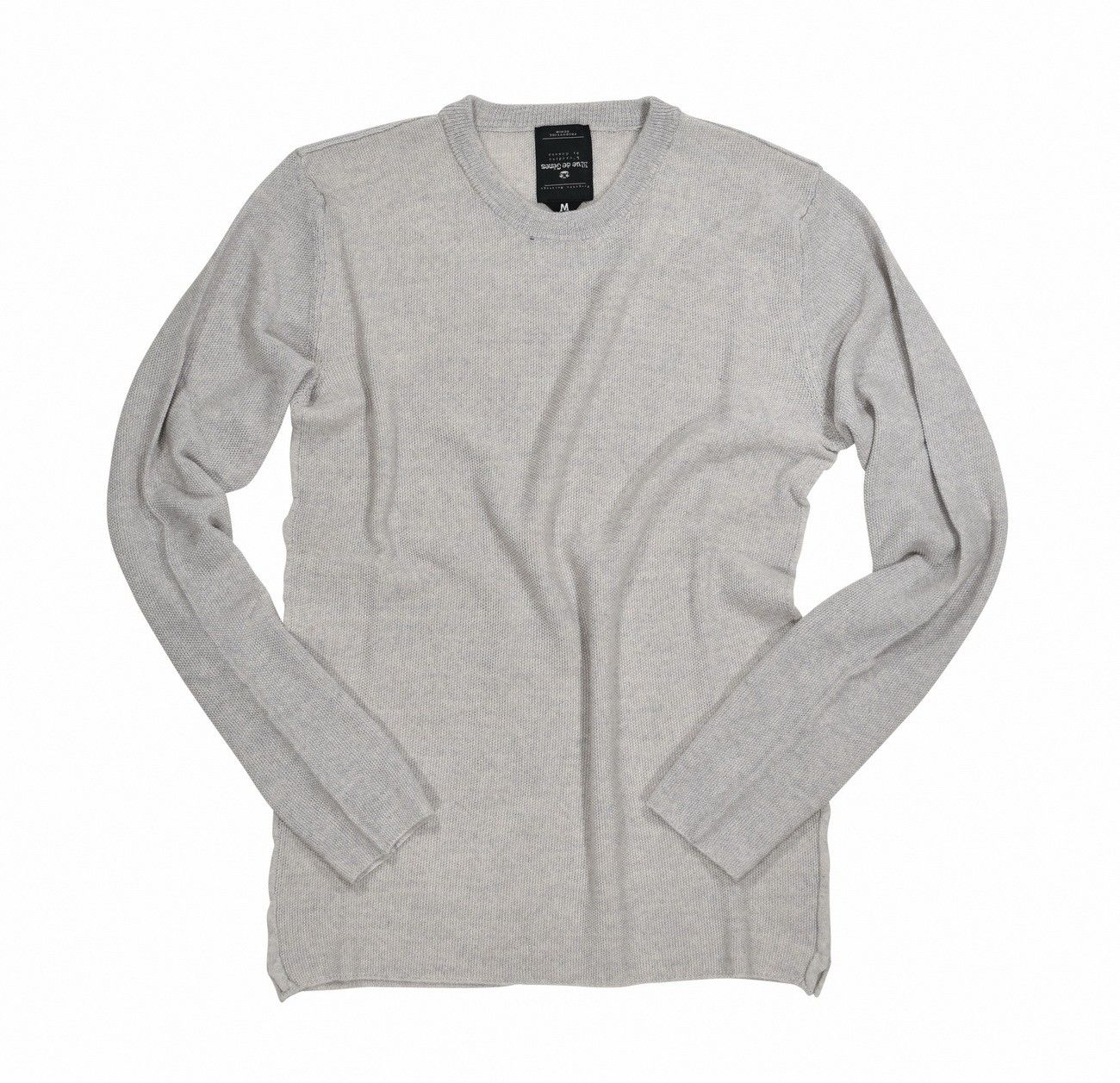 BLUE DE GÊNES - Herren Pullover - Tondo Knit - Light Grey