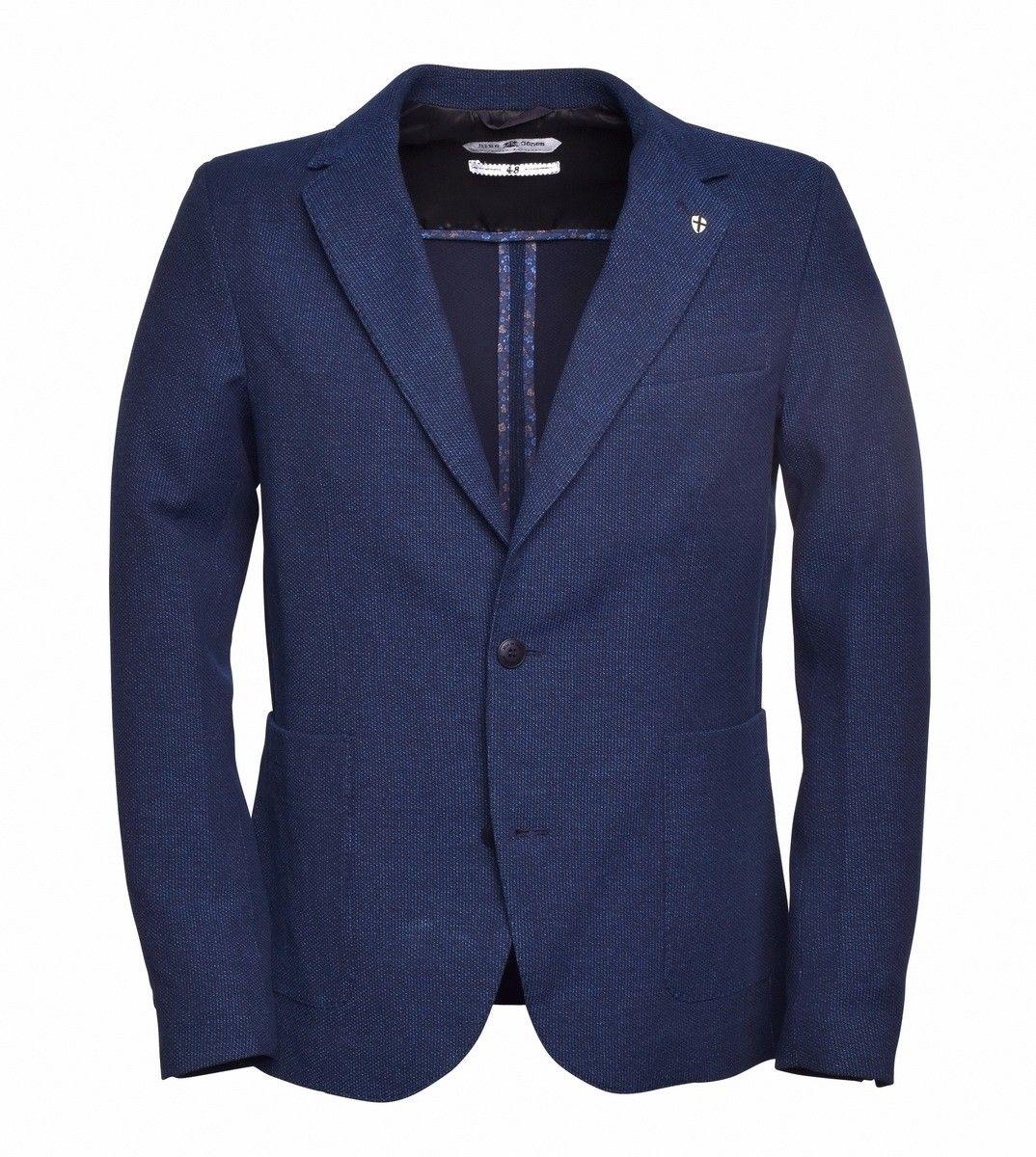 Blue de Gênes - Herren Blazer - Leopardi Isacco Blazer Sakko